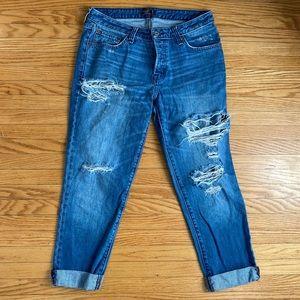 3 / $30! ♡ Abercrombie Slim Boyfriend Jeans